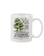 MUG - TO MY MOTHER-IN-LAW - TREE - ALL THE WHILE Mug front
