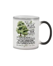 MUG - TO MY MOTHER-IN-LAW - TREE - ALL THE WHILE Color Changing Mug thumbnail
