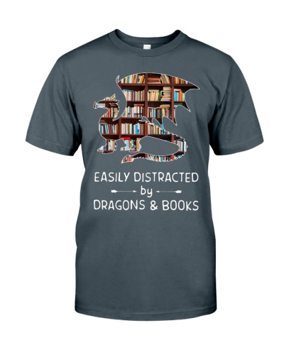 EASILY DISTRACTED BY DRAGON N BOOKS