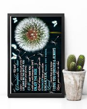 To My Daughter-in-law - Dandelion and Butterfly 16x24 Poster lifestyle-poster-8