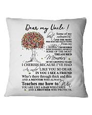 DEAR MY UNCLE Square Pillowcase thumbnail