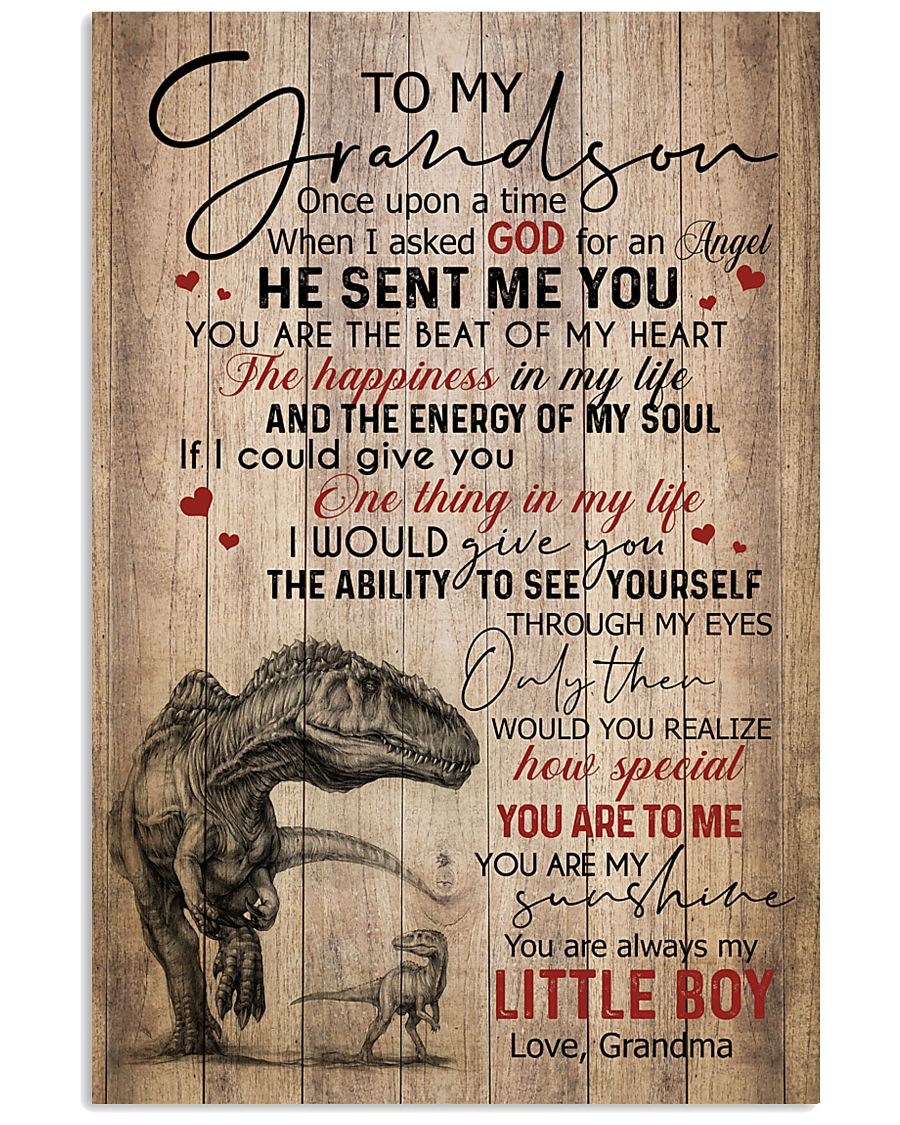 GRANDMA TO GRANDSON - T REX - ONCE UPON 16x24 Poster
