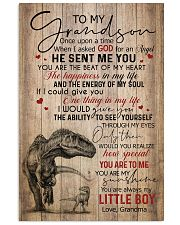 GRANDMA TO GRANDSON - T REX - ONCE UPON 16x24 Poster front