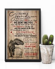 GRANDMA TO GRANDSON - T REX - ONCE UPON 16x24 Poster lifestyle-poster-8