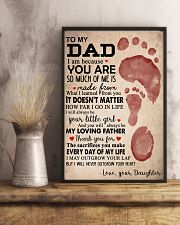 DAUGHTER TO DAD 16x24 Poster lifestyle-poster-3