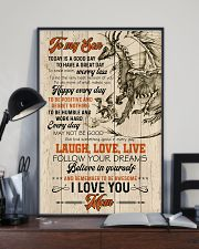 POSTER - TO MY SON - DRAGON - TODAY IS A GOOD DAY 16x24 Poster lifestyle-poster-2