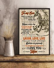 POSTER - TO MY SON - DRAGON - TODAY IS A GOOD DAY 16x24 Poster lifestyle-poster-3