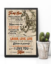 POSTER - TO MY SON - DRAGON - TODAY IS A GOOD DAY 16x24 Poster lifestyle-poster-8