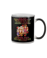 GRANDMA TO GRANDDAUGHTER IN LAW Color Changing Mug thumbnail