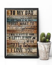 TO MY DAD - MY HERO 16x24 Poster lifestyle-poster-8