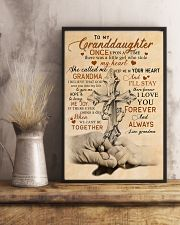 Grandma to Granddaughter - God Sent You Into My  16x24 Poster lifestyle-poster-3
