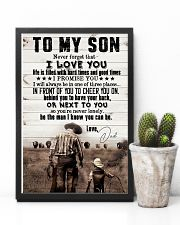 To My Son - I Promise You I Will Always - Poster 16x24 Poster lifestyle-poster-8