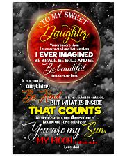 Daughter - Moon - You Are More Than I Ever  16x24 Poster front