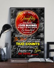 Daughter - Moon - You Are More Than I Ever  16x24 Poster lifestyle-poster-2
