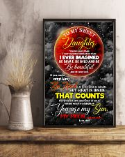 Daughter - Moon - You Are More Than I Ever  16x24 Poster lifestyle-poster-3