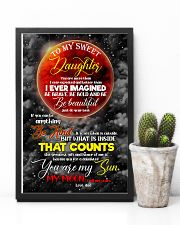 Daughter - Moon - You Are More Than I Ever  16x24 Poster lifestyle-poster-8
