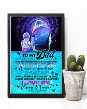 TO DAD - SITTING TOGETHER - SO MUCH OF ME  16x24 Poster lifestyle-poster-8