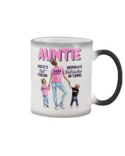 Auntie - Niece and Nephew - Pillowcase Color Changing Mug thumbnail