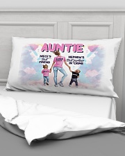Auntie - Niece and Nephew - Pillowcase Rectangular Pillowcase aos-pillow-rectangular-front-lifestyle-03