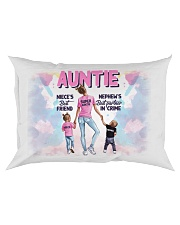 Auntie - Niece and Nephew - Pillowcase Rectangular Pillowcase front