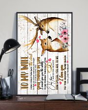 WIFE - DEER - I WISH I COULD TURN BACK THE CLOCK 16x24 Poster lifestyle-poster-2