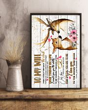WIFE - DEER - I WISH I COULD TURN BACK THE CLOCK 16x24 Poster lifestyle-poster-3