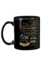 To Granddaughter - I Filled This Mug  Mug back