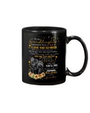 To Granddaughter - I Filled This Mug  Mug front