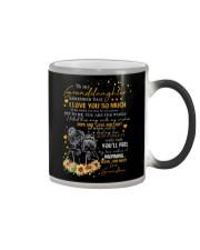 To Granddaughter - I Filled This Mug  Color Changing Mug thumbnail