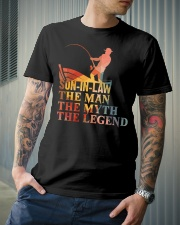 SON-IN-LAW - THE MAN THE MYTH THE LEGEND  Classic T-Shirt lifestyle-mens-crewneck-front-6