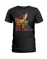 SON-IN-LAW - THE MAN THE MYTH THE LEGEND  Ladies T-Shirt thumbnail