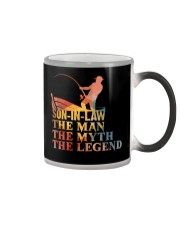 SON-IN-LAW - THE MAN THE MYTH THE LEGEND  Color Changing Mug thumbnail