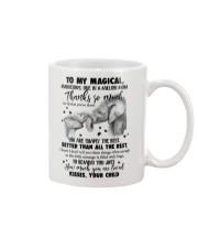 MUG - TO MY MOM - ELEPHANT - THANK YOU Mug front