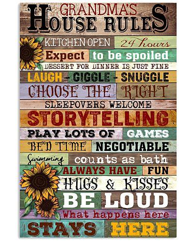 GRANDMA'S HOUSE RULES