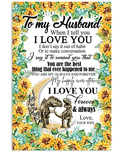 TO MY HUSBAND - DRAGON - YOU ARE MY BEST THING