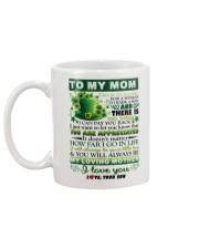 TO MY MOM - SHAMROCK - YOU ARE APPRECIATED Mug back