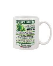 TO MY MOM - SHAMROCK - YOU ARE APPRECIATED Mug front