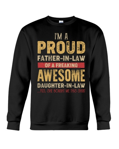 I'm the PROUD father-in-law of a freaking Awesome