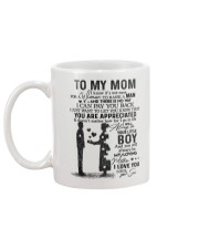 SON TO MOM Mug back