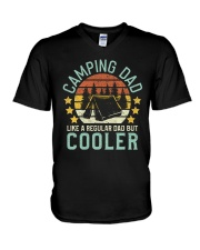 T-SHIRT - FATHER'S DAY - CAMPING V-Neck T-Shirt thumbnail