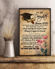 POSTER- TO MY DAUGHTER - GRADUATION - SENIOR 16x24 Poster lifestyle-poster-3