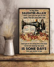 POSTER - TO MY DAUGHTER-IN-LAW - SEWING - THE ONE 16x24 Poster lifestyle-poster-3