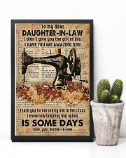 POSTER - TO MY DAUGHTER-IN-LAW - SEWING - THE ONE 16x24 Poster lifestyle-poster-8