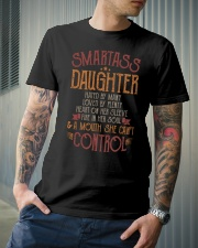 Smartass daughter Classic T-Shirt lifestyle-mens-crewneck-front-6