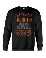Smartass daughter Crewneck Sweatshirt thumbnail