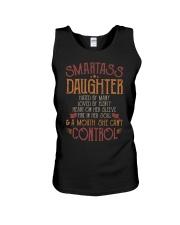 Smartass daughter Unisex Tank thumbnail