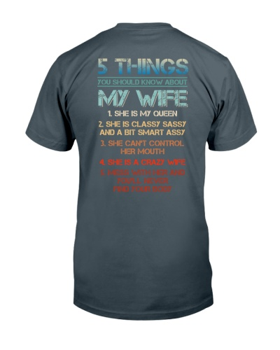 5 things you should know about my wife
