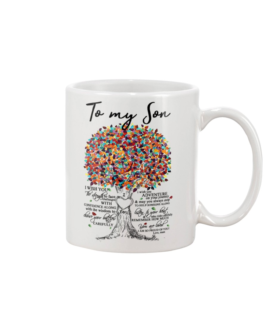 MOM TO SON Mug
