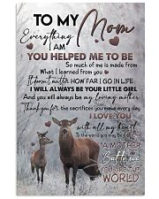 POSTER - TO MY MOM - DEER 16x24 Poster front