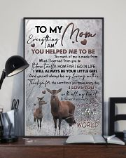 POSTER - TO MY MOM - DEER 16x24 Poster lifestyle-poster-2